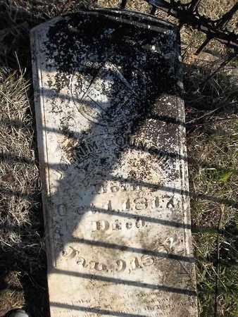 COUNCIL, JOHN M - Franklin County, Arkansas   JOHN M COUNCIL - Arkansas Gravestone Photos