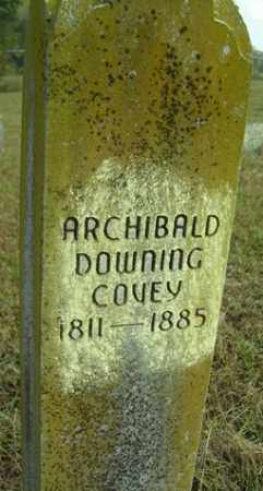 COVEY, ARCHIBALD DOWNING - Franklin County, Arkansas | ARCHIBALD DOWNING COVEY - Arkansas Gravestone Photos