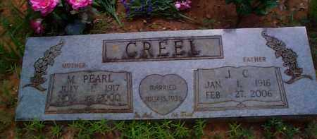 WILLIAMS CREEL, M PEARL - Franklin County, Arkansas | M PEARL WILLIAMS CREEL - Arkansas Gravestone Photos