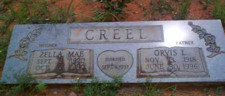 CREEL, ZELLA MAE - Franklin County, Arkansas | ZELLA MAE CREEL - Arkansas Gravestone Photos