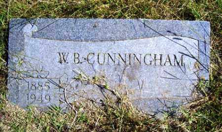 CUNNINGHAM, W. B. - Franklin County, Arkansas | W. B. CUNNINGHAM - Arkansas Gravestone Photos