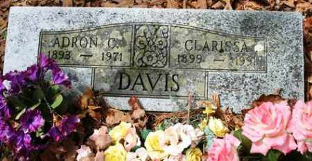 DAVIS, CLARISSA - Franklin County, Arkansas | CLARISSA DAVIS - Arkansas Gravestone Photos