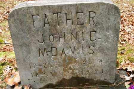 DAVIS, JOHNIE M. - Franklin County, Arkansas   JOHNIE M. DAVIS - Arkansas Gravestone Photos