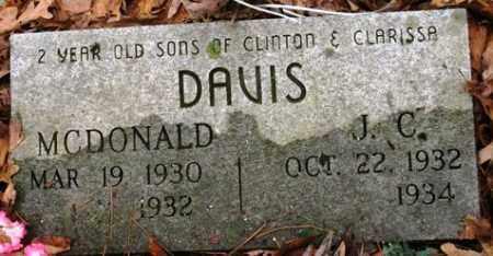 DAVIS, J C. - Franklin County, Arkansas | J C. DAVIS - Arkansas Gravestone Photos