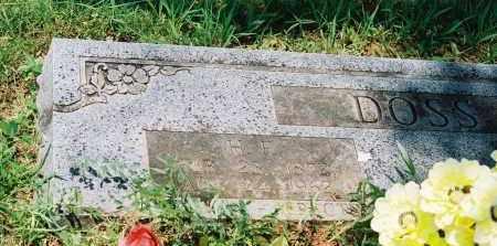 DOSS, H F - Franklin County, Arkansas | H F DOSS - Arkansas Gravestone Photos