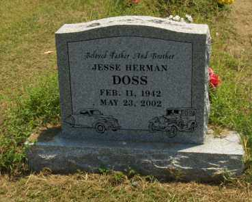 DOSS, JESSE HERMAN - Franklin County, Arkansas   JESSE HERMAN DOSS - Arkansas Gravestone Photos
