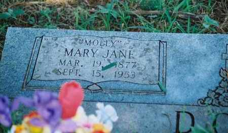 "DOSS, MARY JANE ""MOLLY"" - Franklin County, Arkansas 