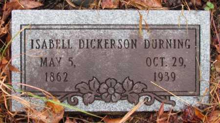 DURNING, ISABELL - Franklin County, Arkansas | ISABELL DURNING - Arkansas Gravestone Photos