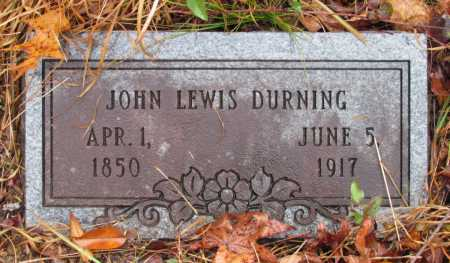 DURNING, JOHN LEWIS - Franklin County, Arkansas   JOHN LEWIS DURNING - Arkansas Gravestone Photos