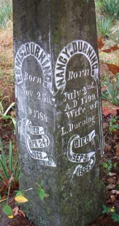 DURNING, LEWIS - Franklin County, Arkansas | LEWIS DURNING - Arkansas Gravestone Photos