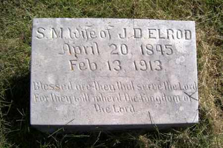 ELROD, S. M. - Franklin County, Arkansas | S. M. ELROD - Arkansas Gravestone Photos