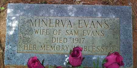 EVANS, MINERVA - Franklin County, Arkansas | MINERVA EVANS - Arkansas Gravestone Photos