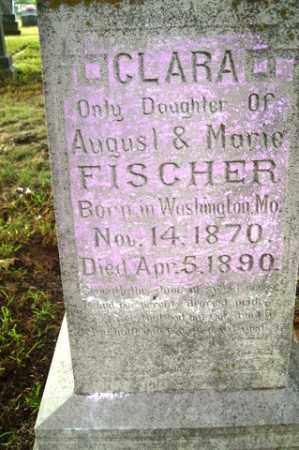 FISCHER, CLARA - Franklin County, Arkansas | CLARA FISCHER - Arkansas Gravestone Photos