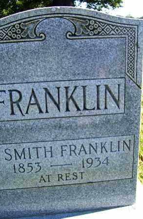 FRANKLIN, N SMITH - Franklin County, Arkansas | N SMITH FRANKLIN - Arkansas Gravestone Photos