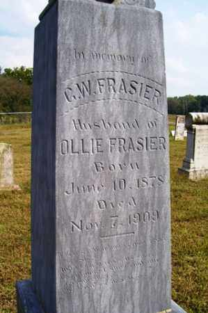 FRASIER, G  W - Franklin County, Arkansas | G  W FRASIER - Arkansas Gravestone Photos