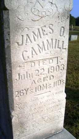 GAMMILL, JAMES O - Franklin County, Arkansas   JAMES O GAMMILL - Arkansas Gravestone Photos