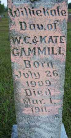 GAMMILL, WILLIE KATE - Franklin County, Arkansas | WILLIE KATE GAMMILL - Arkansas Gravestone Photos