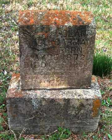 GARMAN, ROLAND - Franklin County, Arkansas   ROLAND GARMAN - Arkansas Gravestone Photos