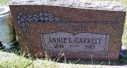 GARRETT, ANNIE E. - Franklin County, Arkansas | ANNIE E. GARRETT - Arkansas Gravestone Photos