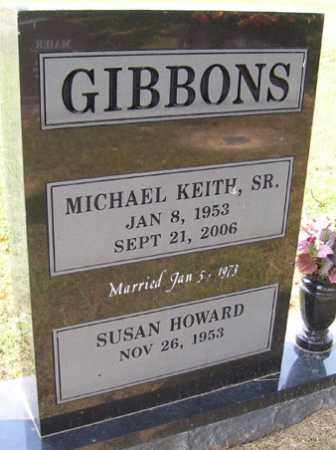 GIBBONS SR., MICHAEL KEITH - Franklin County, Arkansas   MICHAEL KEITH GIBBONS SR. - Arkansas Gravestone Photos