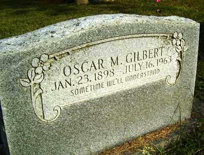 GILBERT, OSCAR M. - Franklin County, Arkansas   OSCAR M. GILBERT - Arkansas Gravestone Photos