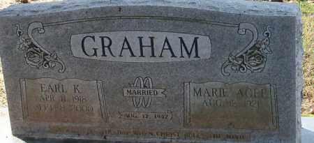 GRAHAM, EARL K - Franklin County, Arkansas | EARL K GRAHAM - Arkansas Gravestone Photos