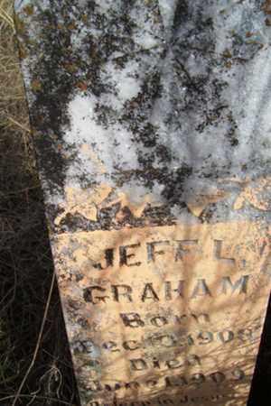 GRAHAM, JEFF L - Franklin County, Arkansas | JEFF L GRAHAM - Arkansas Gravestone Photos