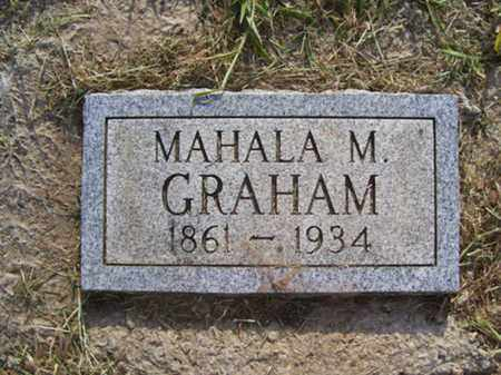GRAHAM, MAHALA M - Franklin County, Arkansas | MAHALA M GRAHAM - Arkansas Gravestone Photos