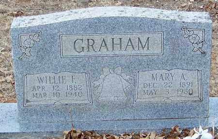 GRAHAM, WILLIE F - Franklin County, Arkansas   WILLIE F GRAHAM - Arkansas Gravestone Photos