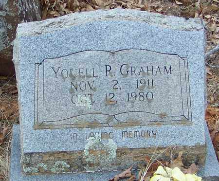 GRAHAM, YOUNELL R - Franklin County, Arkansas | YOUNELL R GRAHAM - Arkansas Gravestone Photos