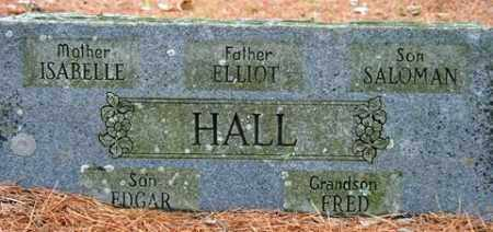 HALL, FRED - Franklin County, Arkansas | FRED HALL - Arkansas Gravestone Photos