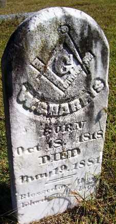 HARRIS, W  C - Franklin County, Arkansas   W  C HARRIS - Arkansas Gravestone Photos