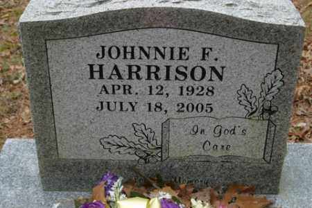 HARRISON, JOHNNIE F - Franklin County, Arkansas | JOHNNIE F HARRISON - Arkansas Gravestone Photos