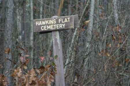 *HAWKINS FLAT CEMETERY SIGN,  - Franklin County, Arkansas |  *HAWKINS FLAT CEMETERY SIGN - Arkansas Gravestone Photos