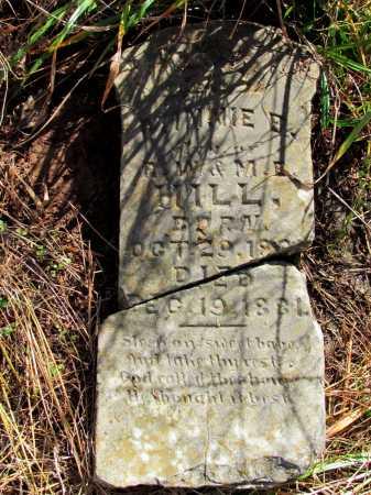 HILL, MINNIE B - Franklin County, Arkansas   MINNIE B HILL - Arkansas Gravestone Photos