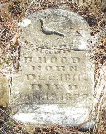 HOOD, MARGARET H - Franklin County, Arkansas | MARGARET H HOOD - Arkansas Gravestone Photos