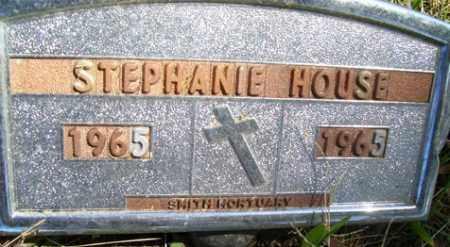 HOUSE, STEPHANIE - Franklin County, Arkansas   STEPHANIE HOUSE - Arkansas Gravestone Photos