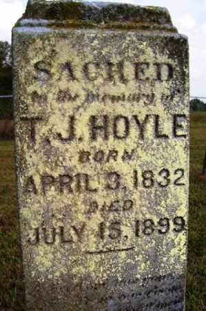 HOYLE, T  J - Franklin County, Arkansas | T  J HOYLE - Arkansas Gravestone Photos