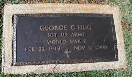 HUG (VETERAN WWII), GEORGE C - Franklin County, Arkansas | GEORGE C HUG (VETERAN WWII) - Arkansas Gravestone Photos