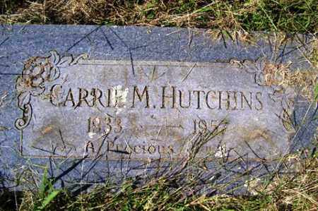 HUTCHINS, CARRIE MABLE - Franklin County, Arkansas | CARRIE MABLE HUTCHINS - Arkansas Gravestone Photos