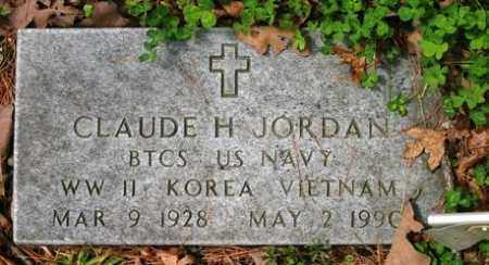 JORDAN (VETERAN 3 WARS), CLAUDE H - Franklin County, Arkansas   CLAUDE H JORDAN (VETERAN 3 WARS) - Arkansas Gravestone Photos