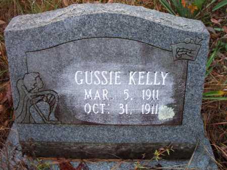 KELLY, GUSSIE - Franklin County, Arkansas | GUSSIE KELLY - Arkansas Gravestone Photos