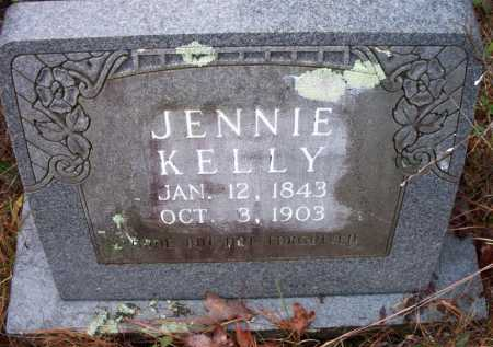 KELLY, JENNIE - Franklin County, Arkansas | JENNIE KELLY - Arkansas Gravestone Photos