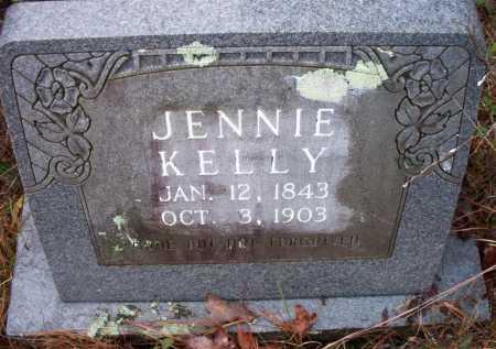 KELLY, JENNIE - Franklin County, Arkansas | JENNIE KELLY - Arkansas Gravestone Photos