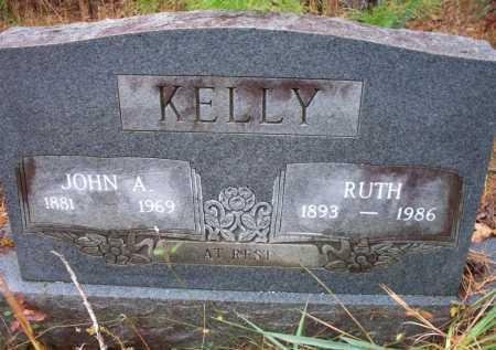KELLY, JOHN A - Franklin County, Arkansas | JOHN A KELLY - Arkansas Gravestone Photos