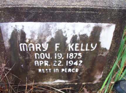 KELLY, MARY  F - Franklin County, Arkansas   MARY  F KELLY - Arkansas Gravestone Photos