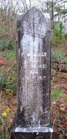 KELLY, P W - Franklin County, Arkansas | P W KELLY - Arkansas Gravestone Photos
