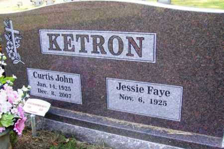 KETRON, CURTIS JOHN - Franklin County, Arkansas | CURTIS JOHN KETRON - Arkansas Gravestone Photos