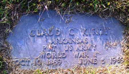KIRBY (VETERAN WWI), CLAUD C - Franklin County, Arkansas | CLAUD C KIRBY (VETERAN WWI) - Arkansas Gravestone Photos
