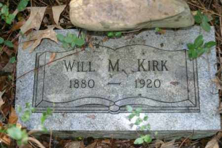 KIRK, WILL M - Franklin County, Arkansas | WILL M KIRK - Arkansas Gravestone Photos